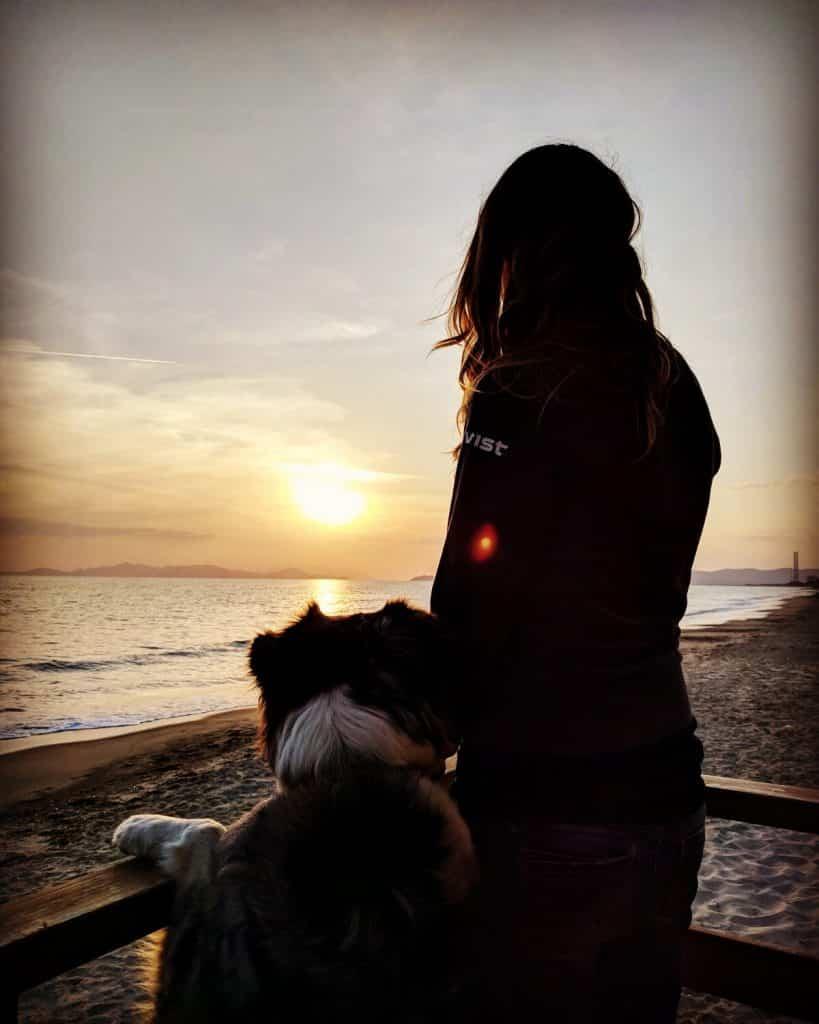 Toskana Hund camping wandern Hundestrand