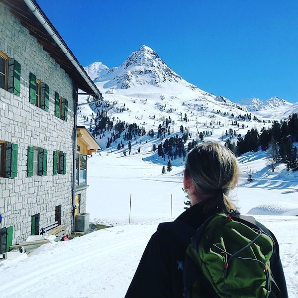 Osttirol Defreggental Staller Sattel Wintercamping Hund Winterwandern Gasthaus Obersee