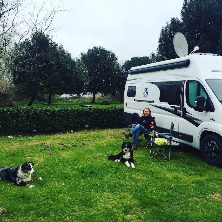 umbrien Bolsena see camping hunde hundetauglich italien