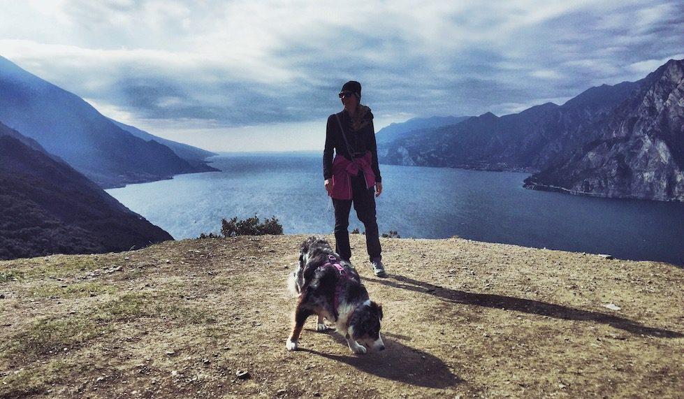 Gardasee Torbole Busatte Tempesta Wandern Hund Camping