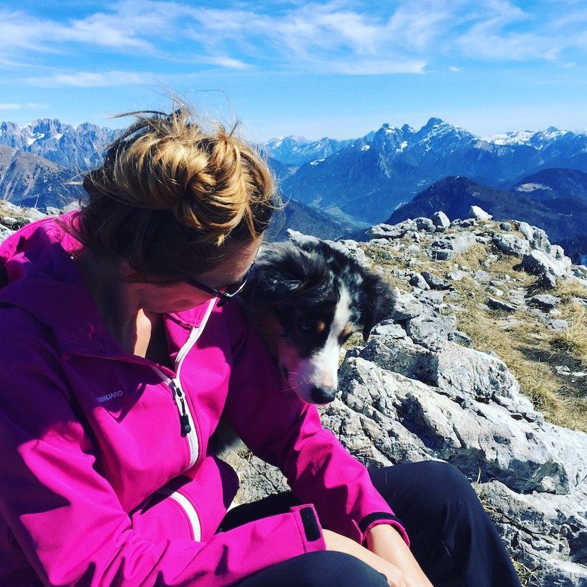 Passo Brocon Trentino Lagorai Hund Camping Wanderung