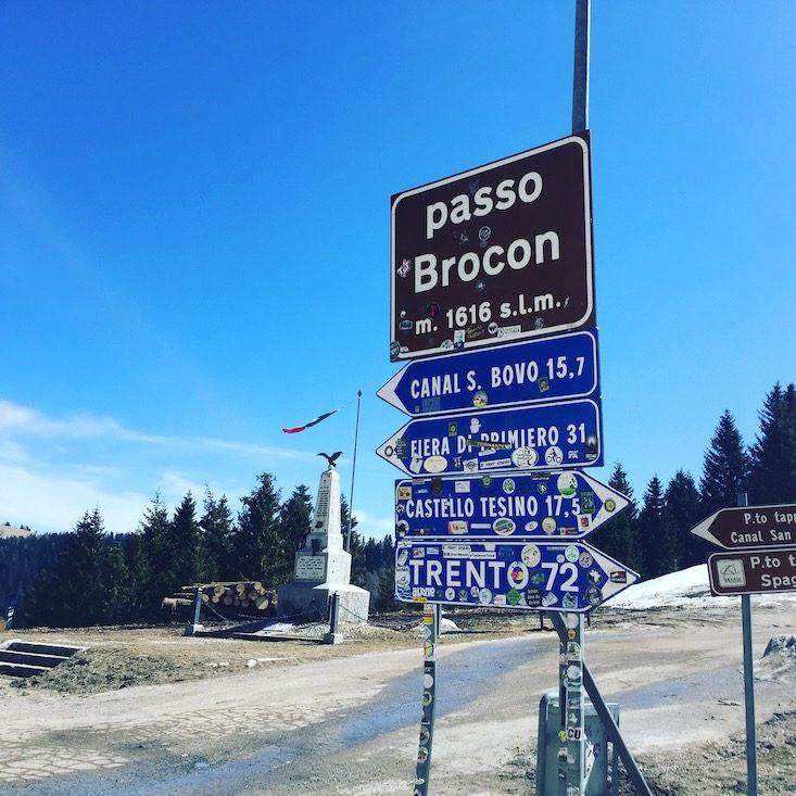 Passo Brecon Lagorai Ostalpen Trentino Camping Wandern Wanderung Hund
