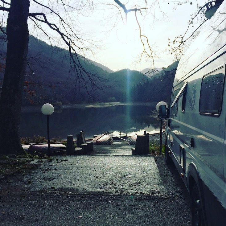 Biogradsko Jezero Biogradska Gora Nationalpark Camping Wohnmobil erlaubt