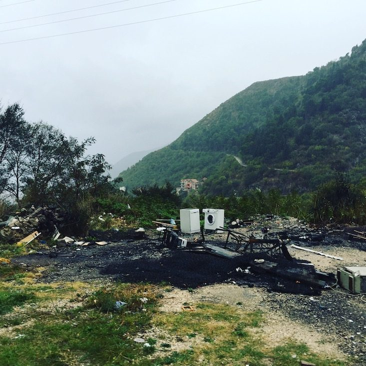 Montenegro Müll Probleme Natur Camping