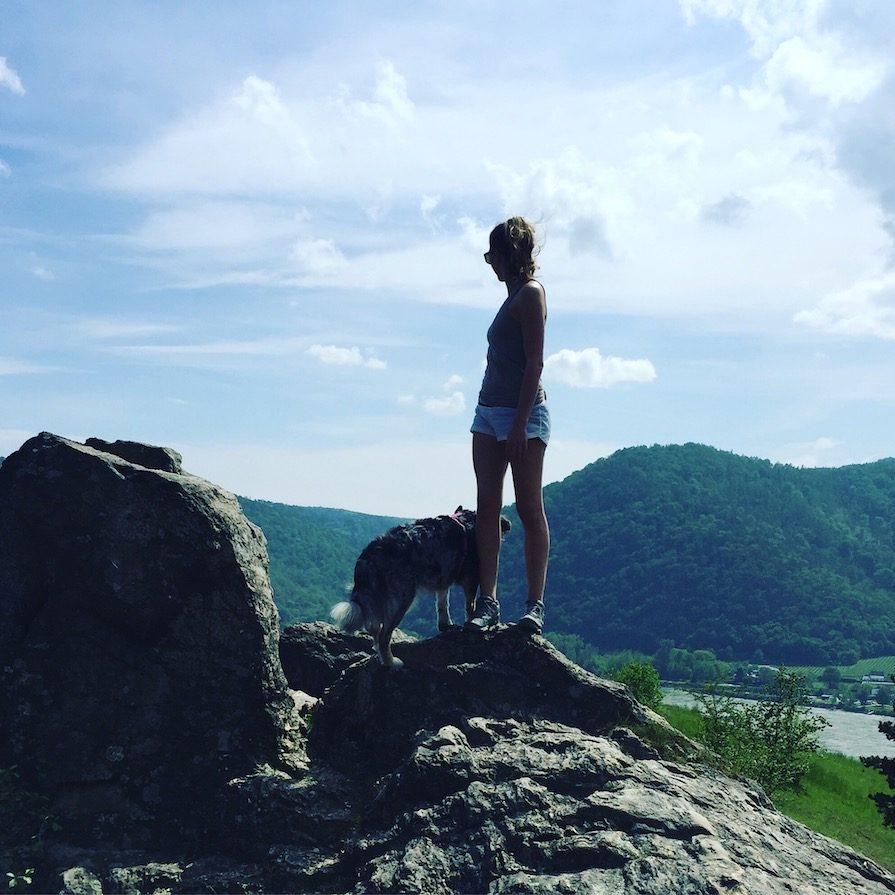Wanderung Hund Welterbesteig