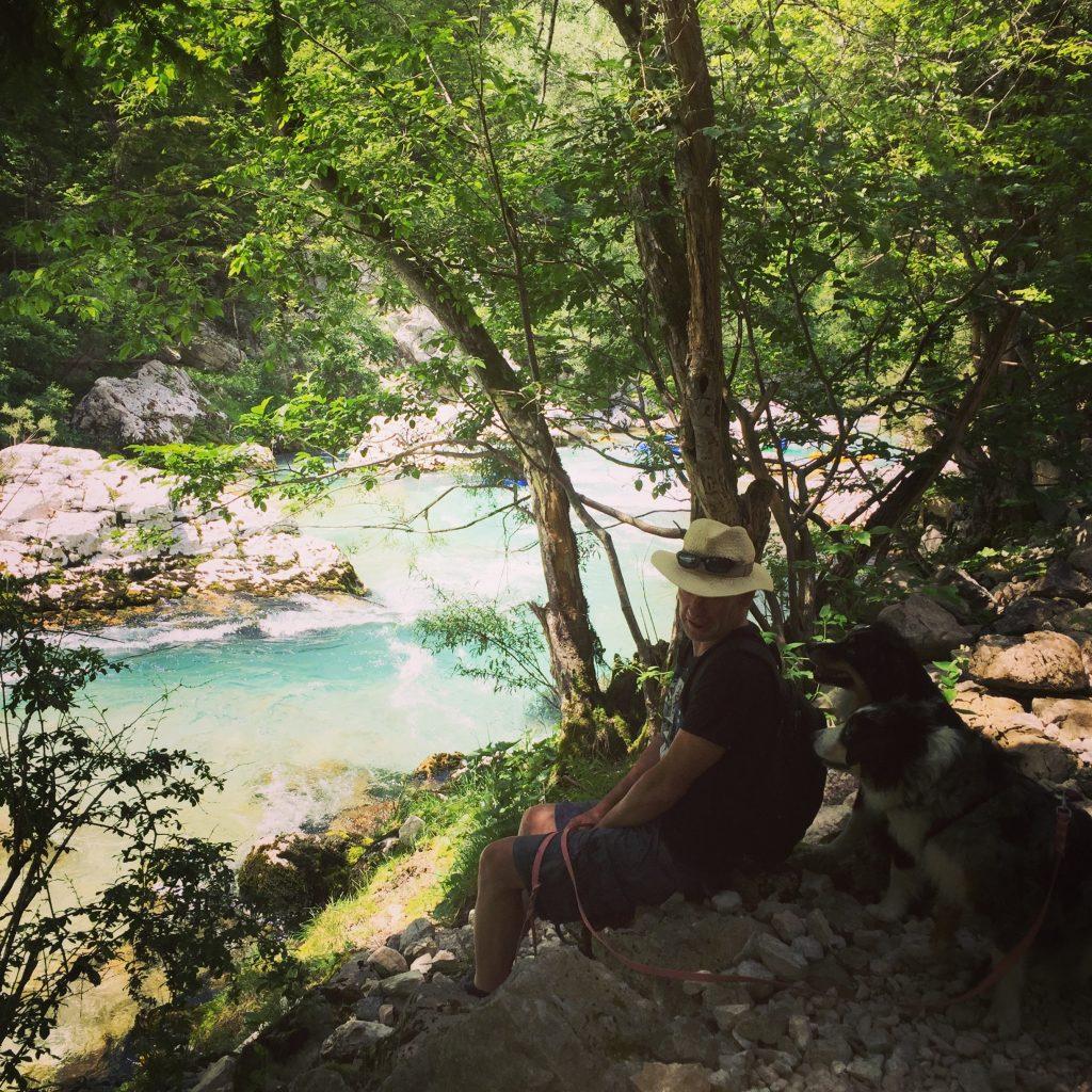 Wanderung Fluss Hund soska pot