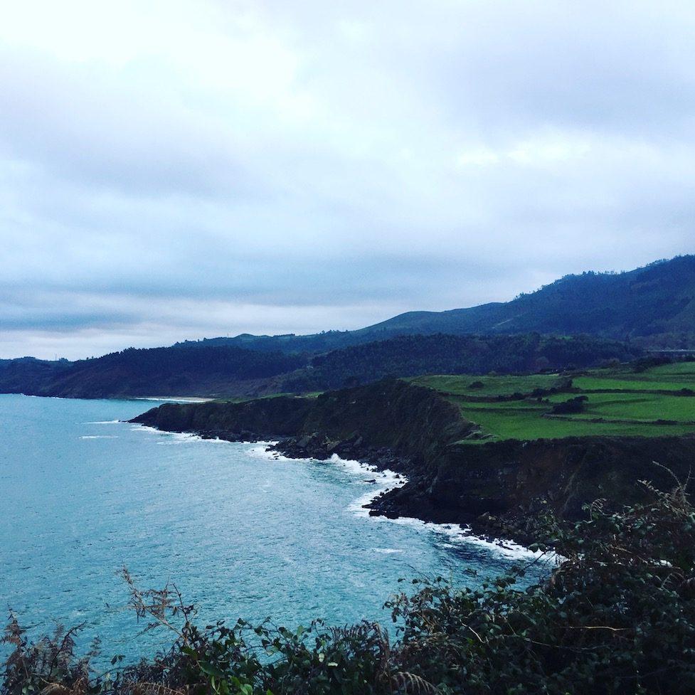Hund camping Nordspanien Asturien Kantabrien Wohnmobil