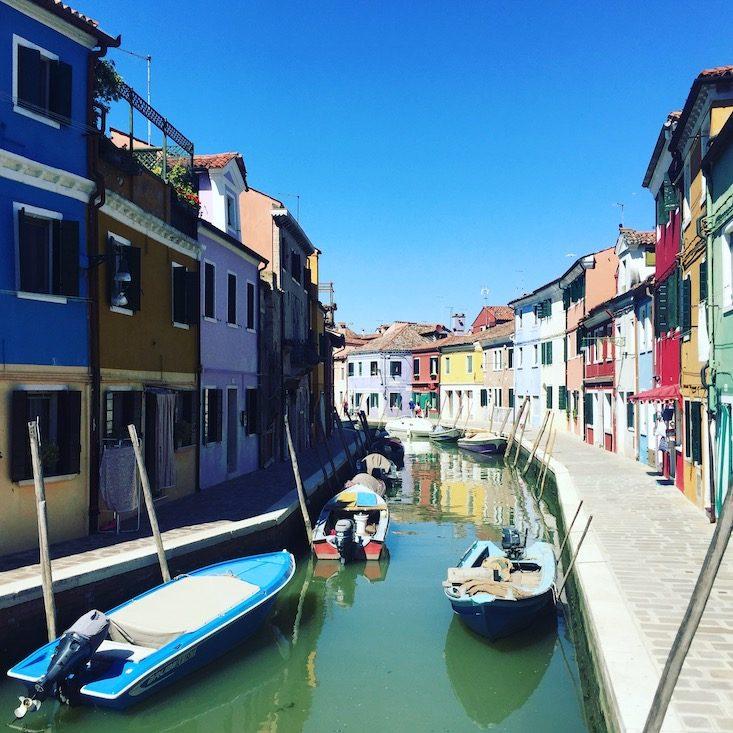 Burano Venedig Laguni Amo Bootstour Boot
