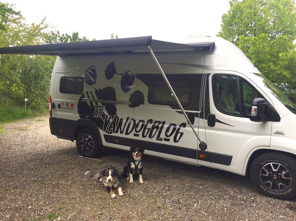 Kastenwagen Camper Vandog camping Hund