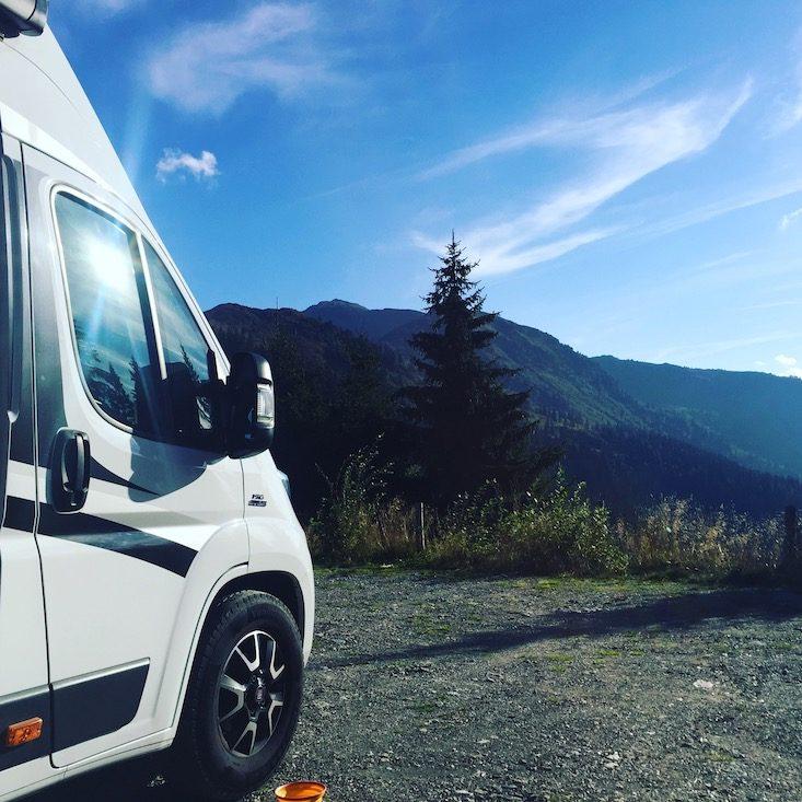 Loas Sattel Camping Wildcamping Wandern Wanderparkplatz