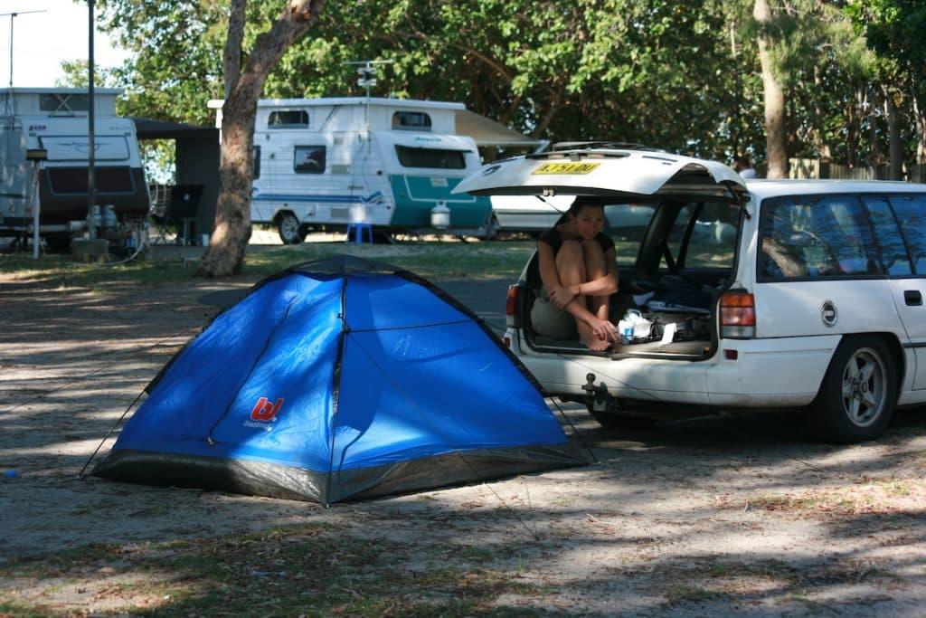 Camping Australien Kombi