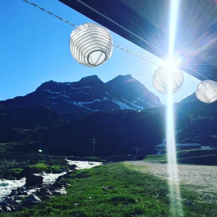 Camping Wohnmobil Van Wildcamping Lampions Tirol Ötztaler Alpen