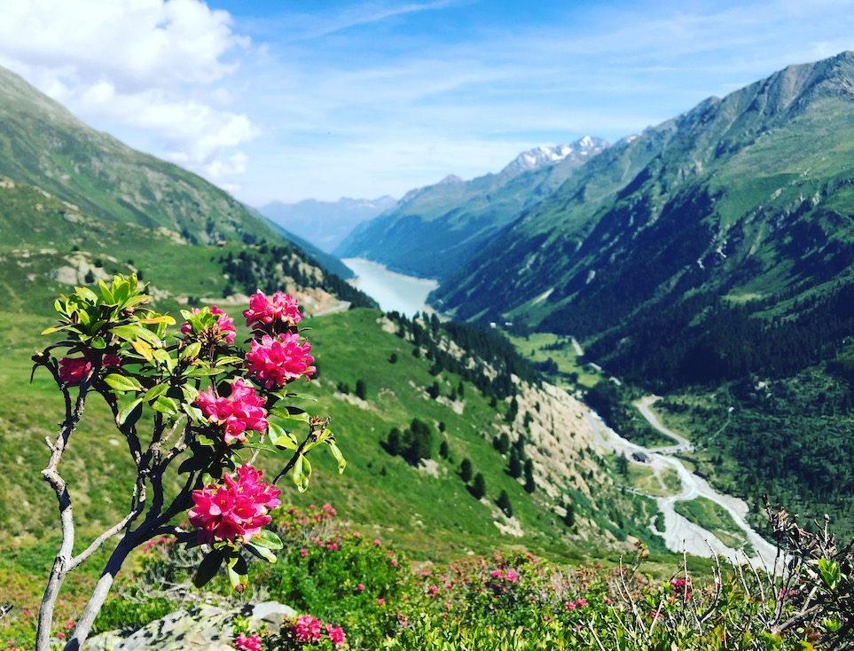 Kaunertal Gepatsch Stausee Ötztaler Alpen Tirol Wandern Wanderung Camping Sommer