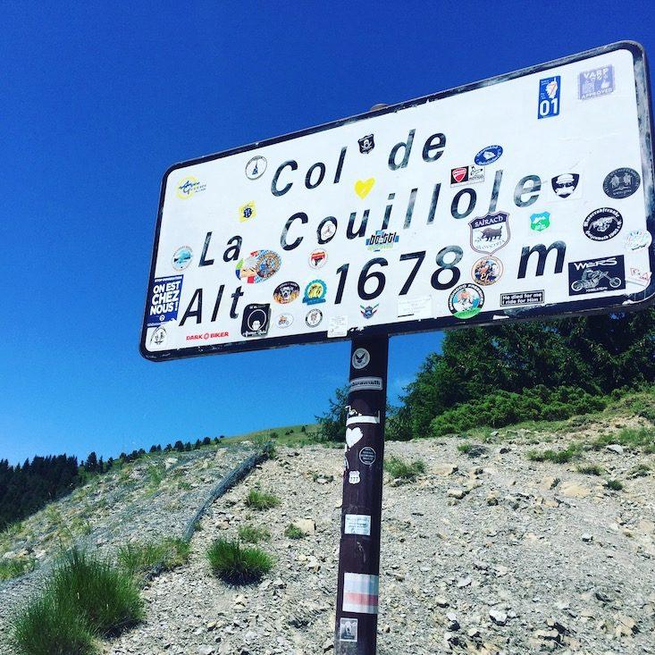 Col de la Couillole Alpenpass Frankreich Route des Grandes Alpes Rundreise