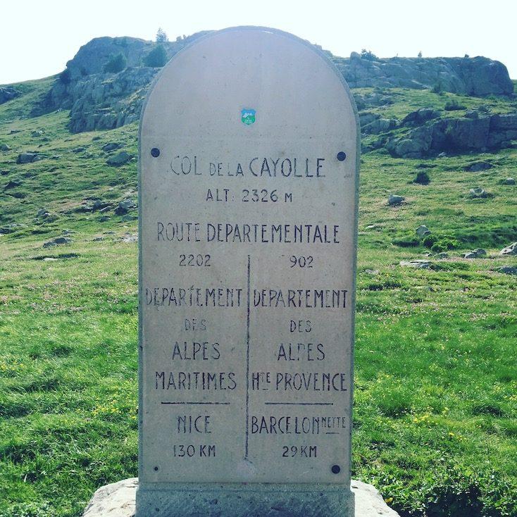 Col de la Cayolle Alpenpass Pässe Frankreich Route de Grandes Alpes Hunde verboten Wildcamping verboten