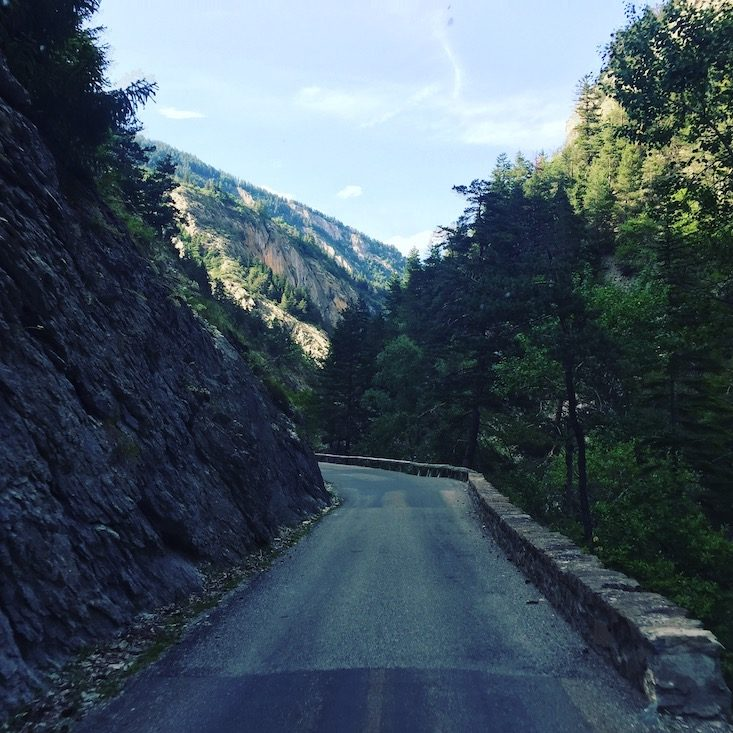 Gorges du Bachelard Schlucht Frankreich Route des Grandes Alpes Panoramastrecke Alpen