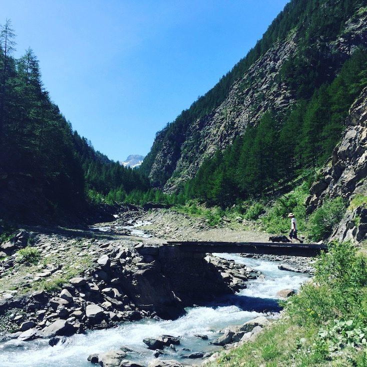Wandern GR5 Weiterwandern mit Hund Camping Val Cenis Frankreich Alpen Berge
