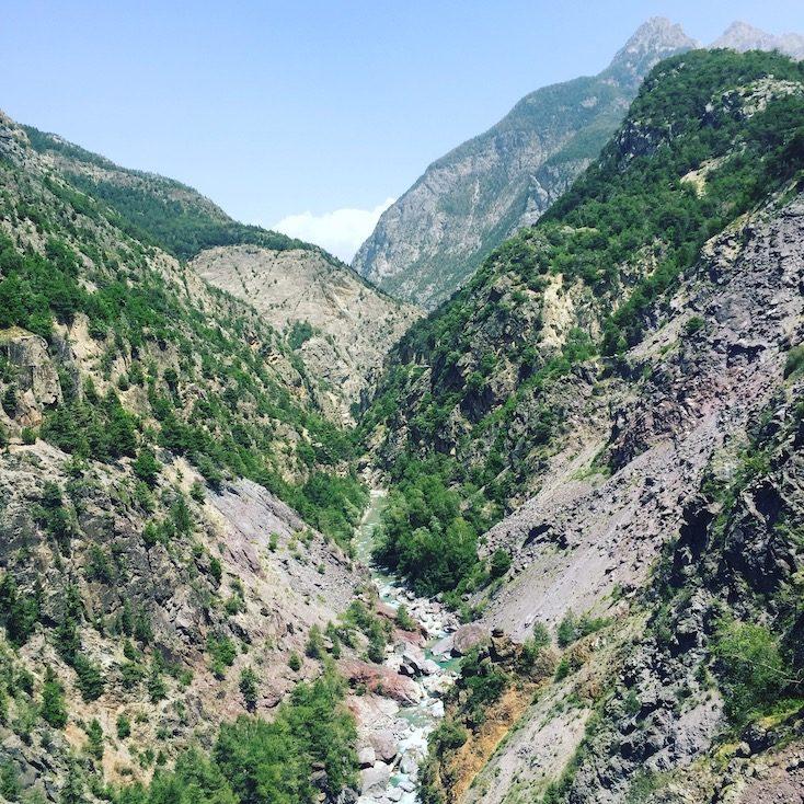Combe du Queyras Alpen Frankreich Schlucht Panoramastraßen sehenswert Roadtrip Rundreise Wohnmobil Campingbus