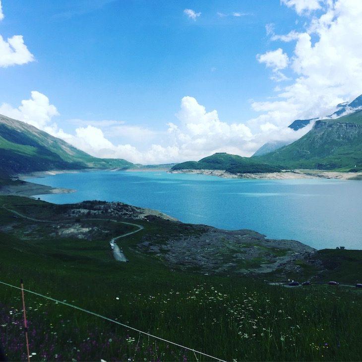 Stausee Frankreich Alpen Lac du Mont Cenis Rundreise Wohnmobil Camping