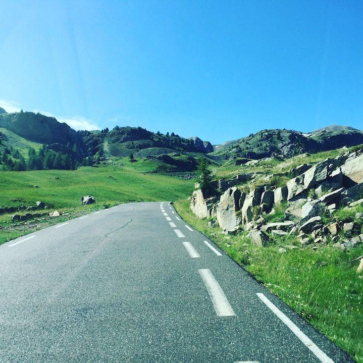 Col de la Bonette Alpenpässe Pass Frankreich Alpen Bergstraße