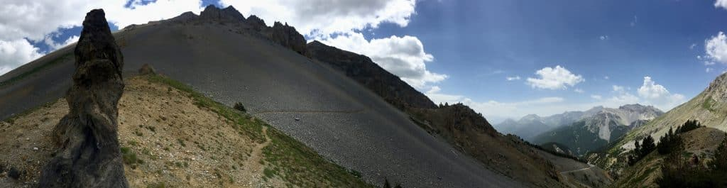 Col de L'Izoard Alpen Pass Frankreich Wildcamping Wohnmobil