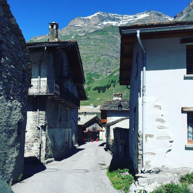 Bessans Val Cenis Alpen Frankreich