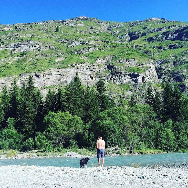 Arc Vanoise Nationalpark Frankreich Alpen Camping Hund Wildcamping