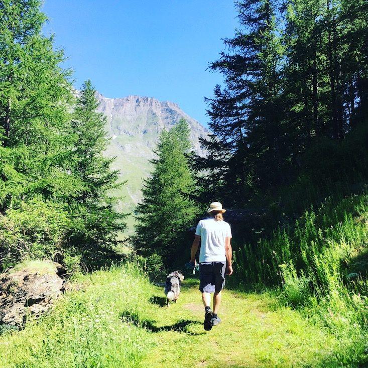 Val Cenis Vanoise Nationalpark Fernanden Weitwandern wandern mit Hund Alpen Frankreich