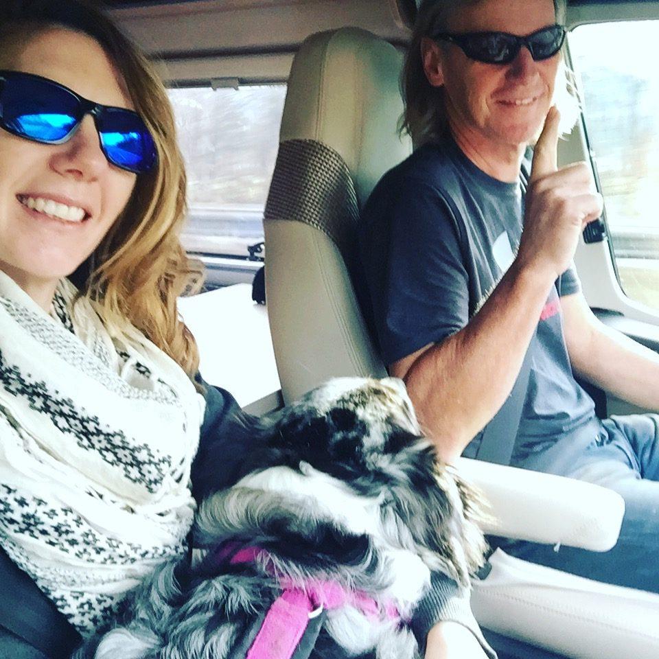 Reisen Hund Camping Kastenwagen