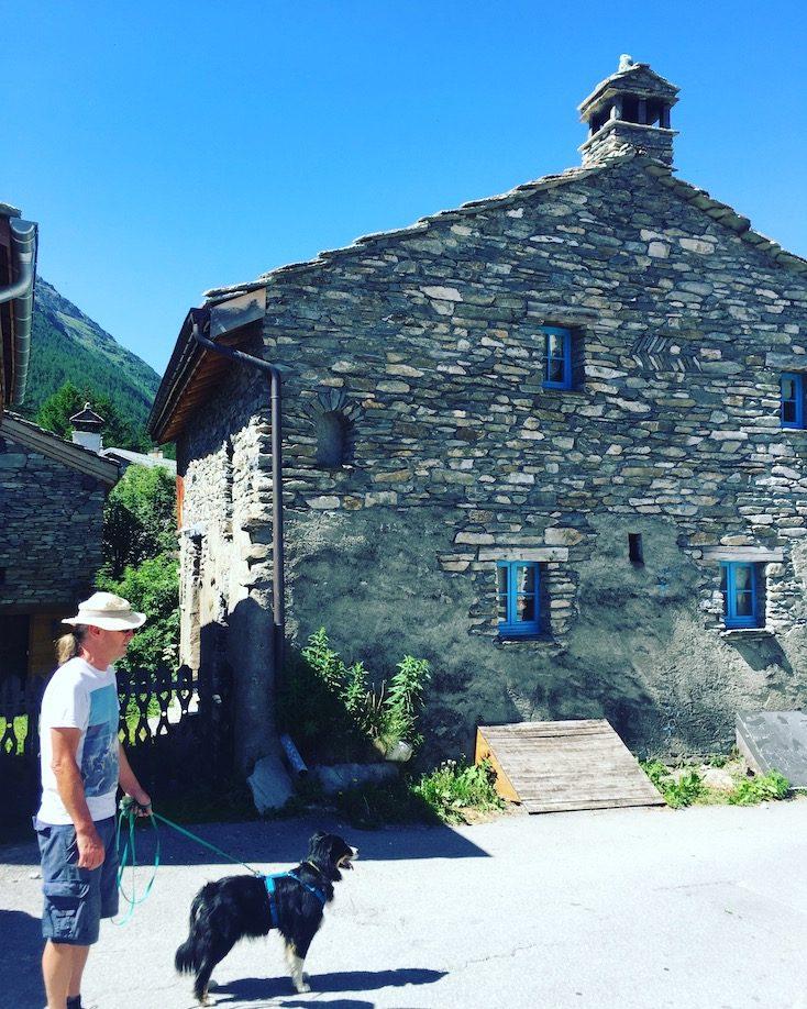 Bessans Val Cenis Vanoise Nationalpark Frankreich Alpen Urlaub mit Hund wandern