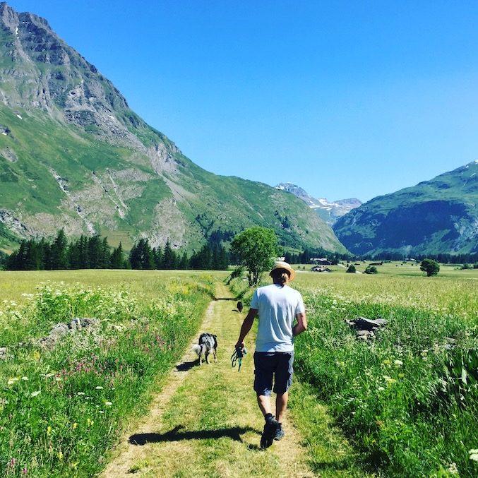 Val Cenis GR5 wandern mit Hund weiterwandern Frankreich Alpen