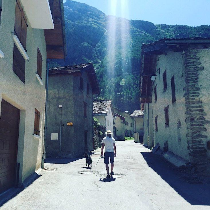 Bessans Val Cenis Vanoise Nationalpark Alpen Frankreich