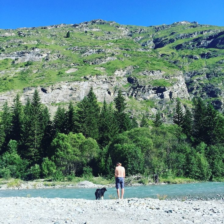 Arc Vanoise Nationalpark Frankreich Alpen Camping Hund Wildcamping