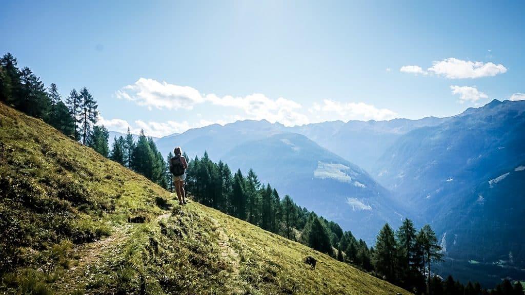 Wanderung Marterle Stall Weitwandern Fernwandern Hund Kärnten
