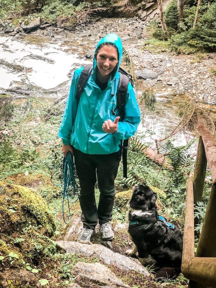 Alpe-Adria-Trail mit Hund Weitwandern Fernwandern Weitwanderweg Kärnten Alpe Österreich Schlucht