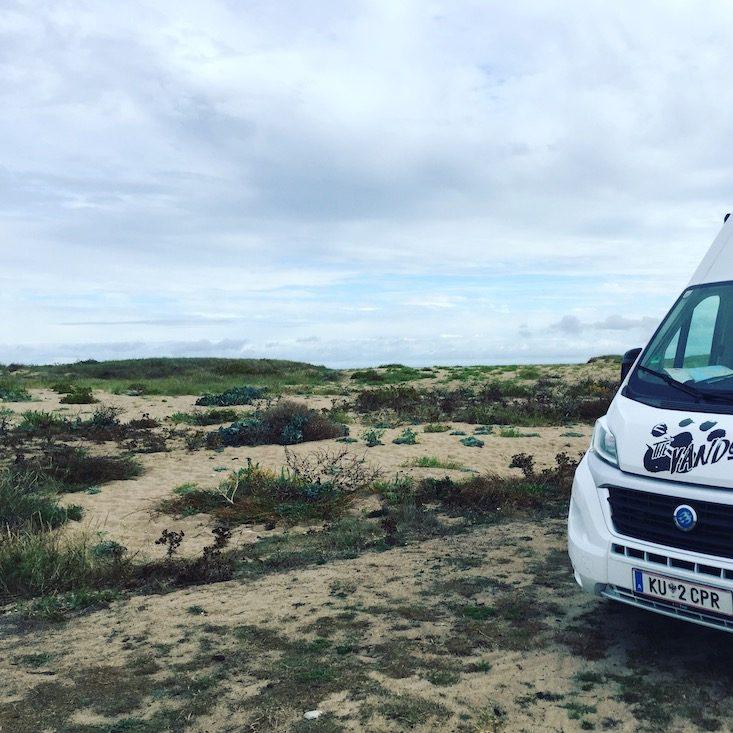 La Hague Normandie Cotentin Wildcamping Camping Wohnmobil Van Campingbus