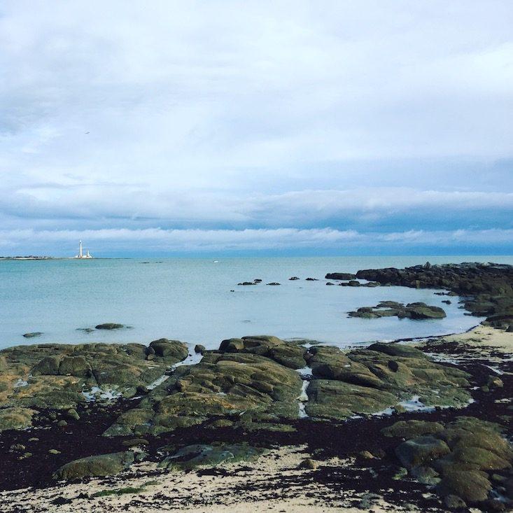 Frankreich Normandie Atlantik Wandern Küstenwanderung