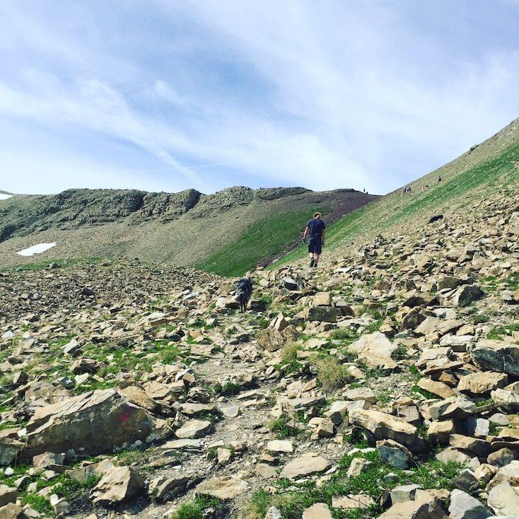Wanderung Vallon des Touréis wandern mit hund Frankreich Alpen Lac Verdet