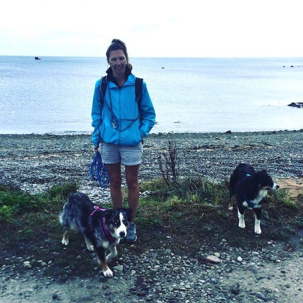 Frankreich. Normandie Camping Hund Wandern Weitwandern Sentier Littoral Zöllnerweg