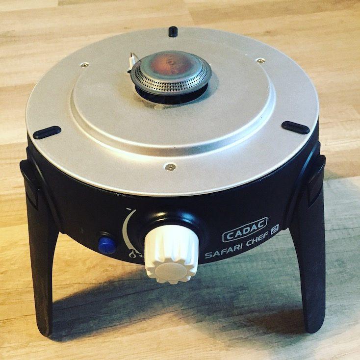 Cadac Safari Chef Ein-Flamm-Kocher Camping-Grill kompakt
