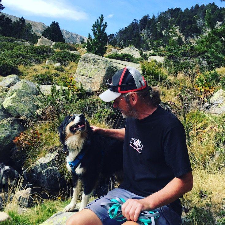 Spanien Pyrenäen Lles de Cerdanya Wandern Wanderung mit Hund