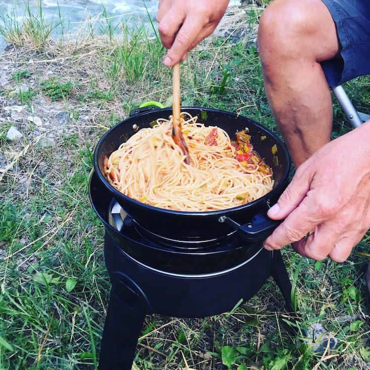 Cadac Safari Chef Kochen Camping Pasta Spaghetti