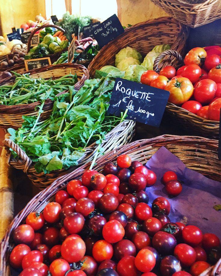 Südfrankreich Bio-Laden Bio-Landwirtschaft Ferme du Bio Sillon St Nazaire