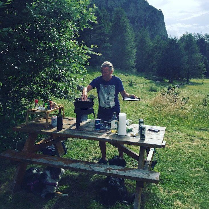 Picknick tragbarer Grill Gas-Grill Camping-Grill