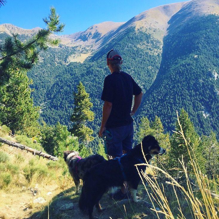 Cerdanya Wandern mit Hund Spanien Pyrenäen Katalonien Berge Bergtour