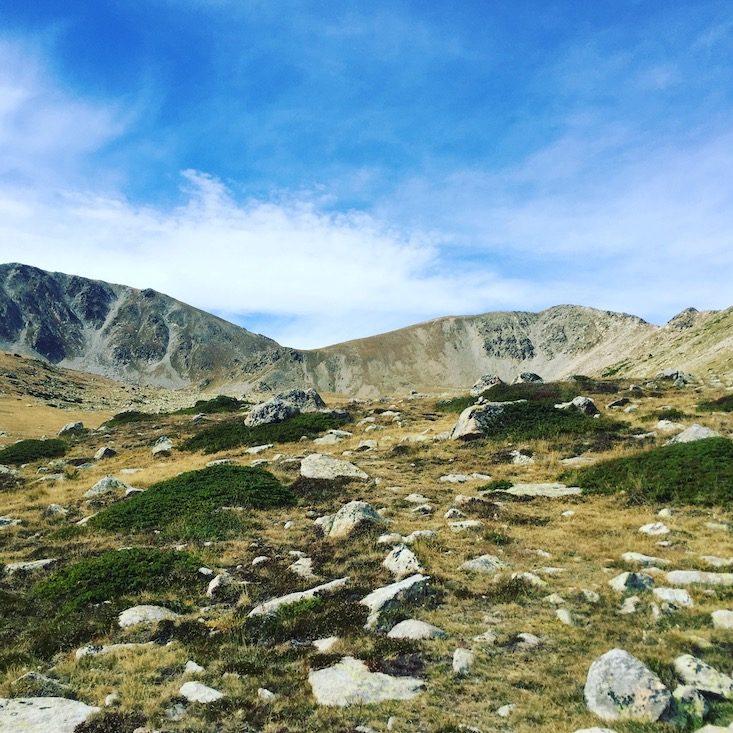 Cerdanya Refugi cap del Rec Estanys de la muga Wanderung Spanien Pyrenäen Katalonien