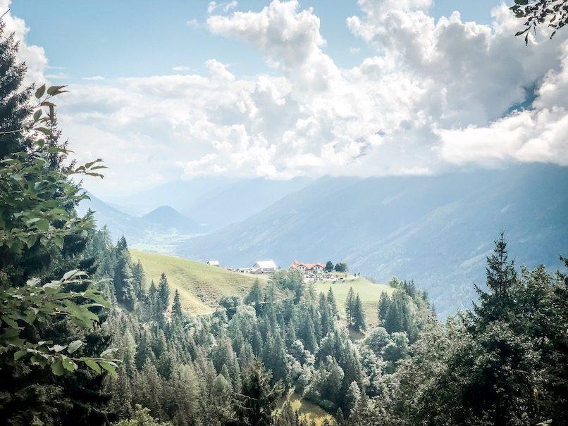 Weitwandern Hund Fernwanderung Kärnten wandern Österreich
