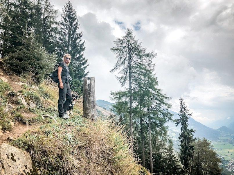 Alpe-Adria-Trail Wandern Hund Weitwandern Kärnten Österreich Alpen