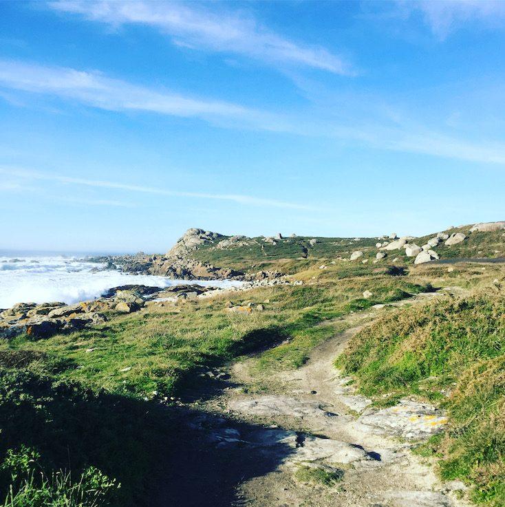 Galicien Spanien Nordspanien Roadtrip Camping mit Hund Küstenwanderweg wandern mit Hund
