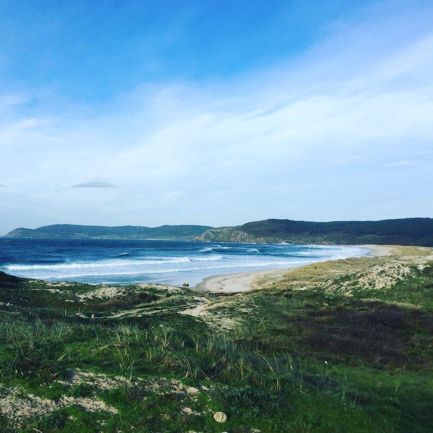 Galicien schönster Ort der Welt Meer Atlantik Camping mit Hund Spanien Nordspanien Roadtrp